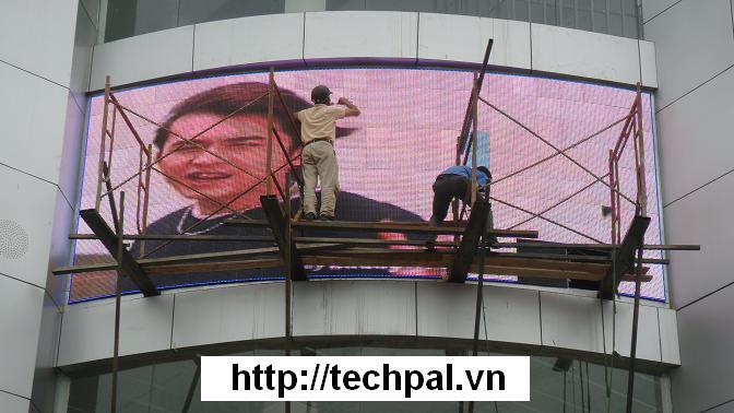 Hoàn thành Dự án LED Fullcollor lớn nhất Hà Nội