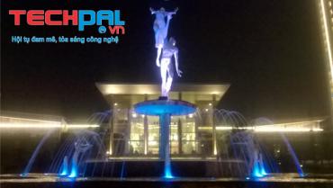 Công trình trang trí Đài phun nước Khu đô thị Ciputra – Nam Thăng Long